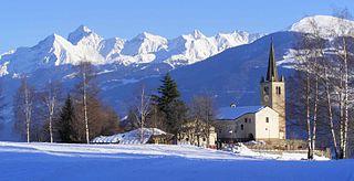 Comune in Aosta Valley, Italy