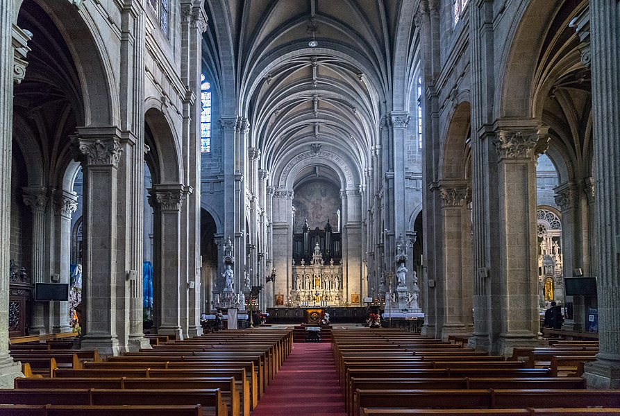 Sainte Anne Auray - Nef