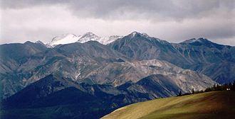 Mönkh Saridag - Eastern Sayan with Mönkh Saridag in the background.