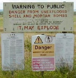 Salisbury Plain - Military use makes some areas of the plain inaccessible to the public.