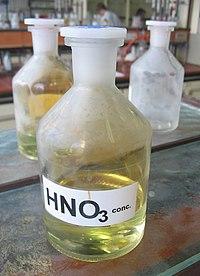 промышленное производство азотной кислоты: