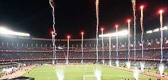 Indian Super League - The Salt Lake Stadium hosted the first ever ISL match in October 2014.