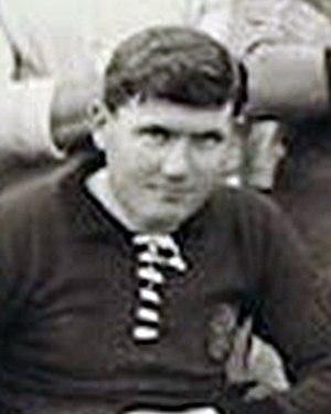 Sam Blott - Blott while with Plymouth Argyle in 1914.