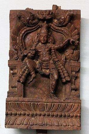 Sambandar - Sambandar (Wooden Image), ASI Museum, Vellore