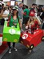 San Diego Comic-Con 2011 - Mario & Luigi Mario Kart costumes (6039791888).jpg