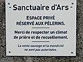Sanctuaire d'Ars (panneau).JPG