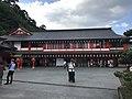 Sanshuden Hall of Taikodani Inari Shrine.jpg
