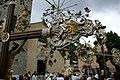 Sant'Eusebio - Madonna di Caravaggio - Processione - 021 - Cristi davanti alla chiesa.jpg