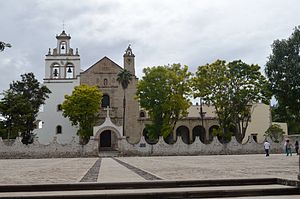 Cuitzeo - Church and former monastery of Santa María Magdalena
