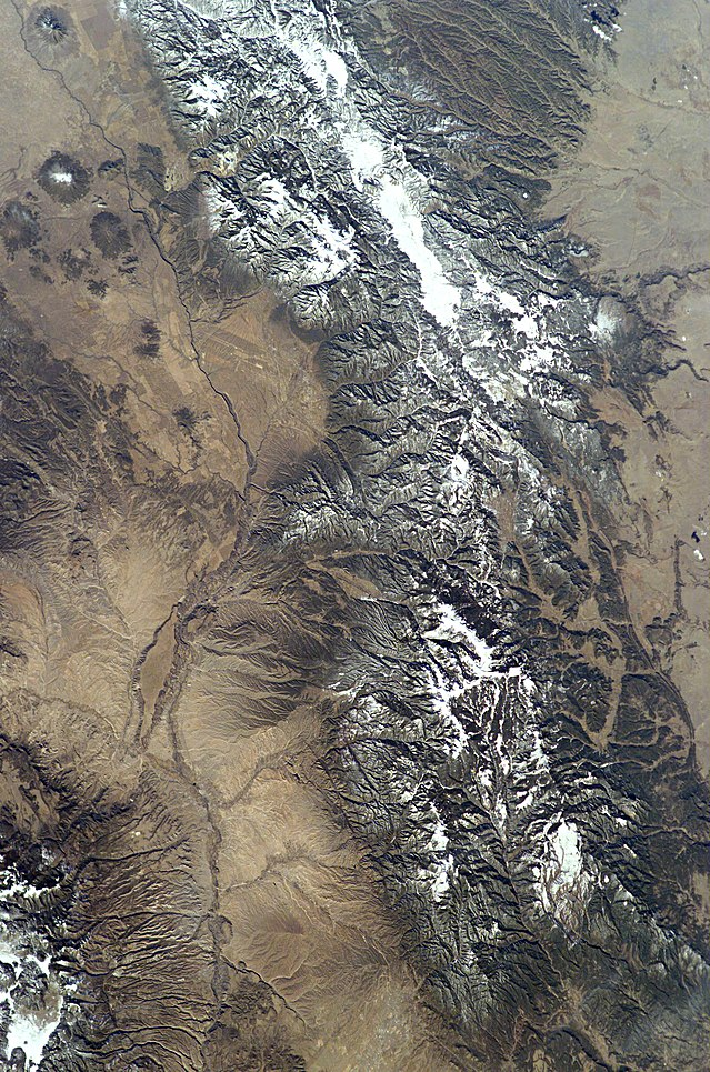 Santa Fe from space