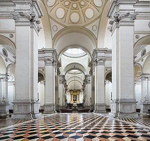 Abbey of Santa Giustina - Image: Santa Giustina (Padua) Nave