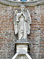 Santa Maria Assunta, angelo su portale (Arre).JPG