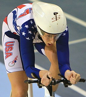 Sarah Hammer American cyclist
