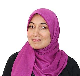 Sayida Ounissi Tunisian politician