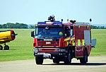 Scania fire tender, Imperial War Museum, Duxford, May 19th 2018. (41340015315).jpg