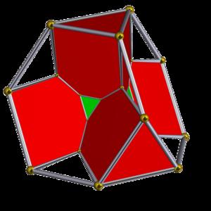 Truncated 5-cell - Image: Schlegel half solid bitruncated 5 cell