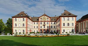 Lindau Nobel Laureate Meetings - Mainau Castle on Mainau Island, property of the Bernadotte family and the traditional venue of the last day of any Lindau Nobel Laureate Meeting.