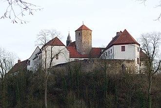 Bad Iburg - Castle and Bennoturm