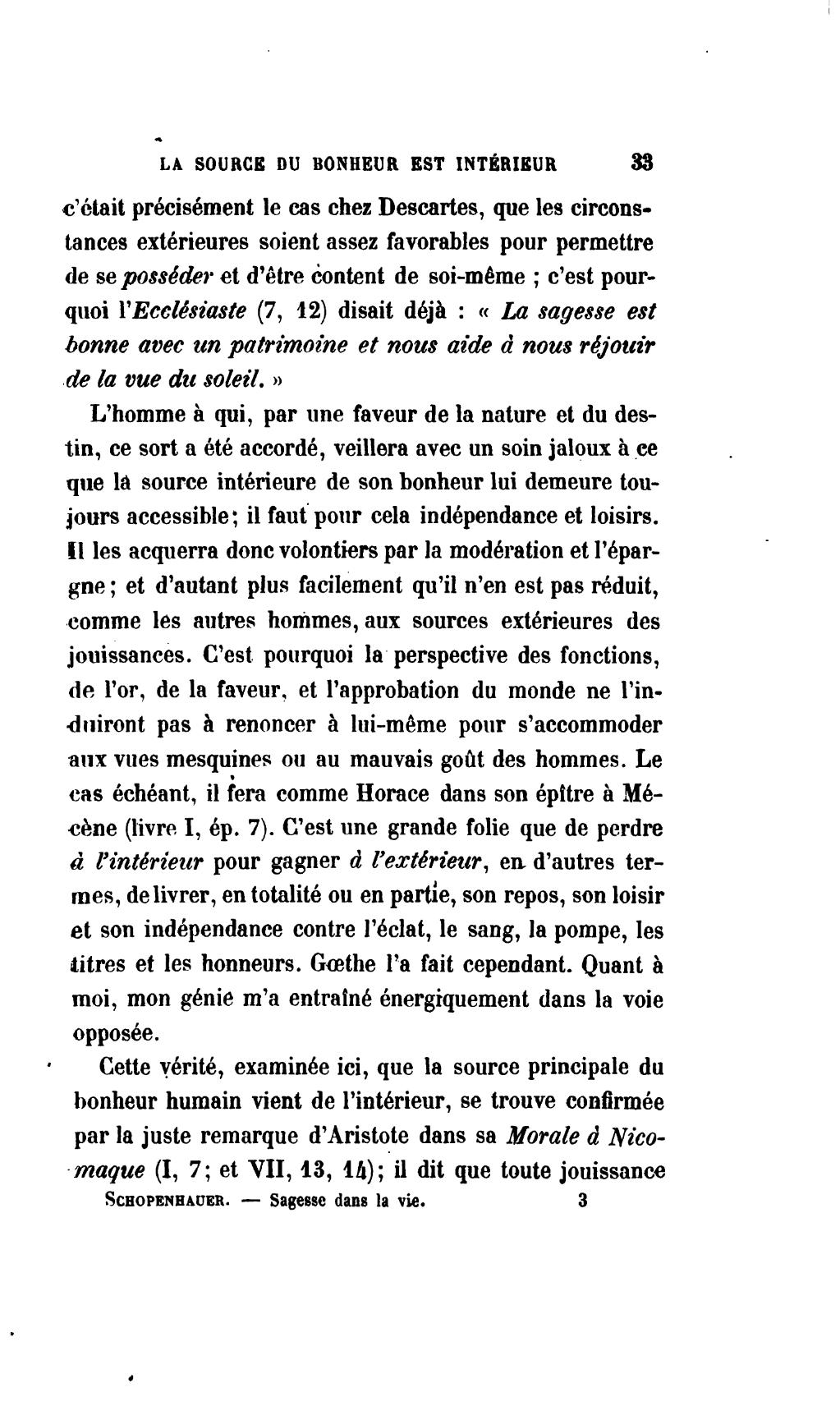 aphorismes sur la sagesse de la vie schopenhauer essays