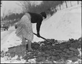 Scott's Run, West Virginia. (Woman gathering coal.) - NARA - 518407.tif