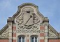 Sculpture sur la gare (Colmar) (1).jpg