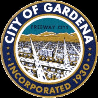 Gardena, California - Image: Seal of Gardena, California