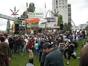 Cannabis in Washington (state) - Seattle Hempfest, 2007