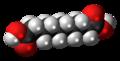 Sebacic acid 3D spacefill.png