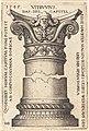 Sebald Beham, Capital and Base of a Column, 1545, NGA 6314.jpg