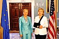 Secretary Clinton Meets With European Commissioner for External Relations and European Neighborhood Policy (3728515190).jpg