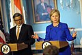 Secretary Clinton Responds to Questions With Indian Minister of External Affairs S.M. Krishna (4667878654).jpg