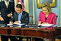 Secretary Clinton and Croatian Foreign Minister Jandrokovic Sign an Open Skies Agreement (5414886770).jpg