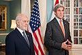 Secretary Kerry and Iraqi Foreign Minister al-Jaafari Address Reporters in Washington (28454621205).jpg