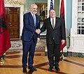 Secretary Pompeo Meets with Albanian Prime Minister Rama (49492847028).jpg