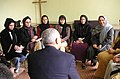 Secretary Powell speaking to a group of women in Afghanistan.jpg