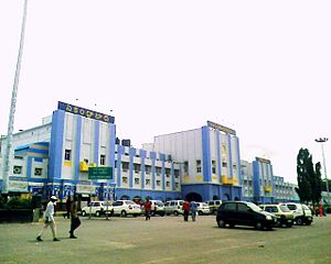 Rail transport operations - The Secunderabad Railway Station is one of the busiest stations of Indian Railways