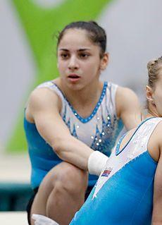 Seda Tutkhalyan Russian Artistic Gymnast