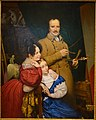Self-portrait of the Artist and His Family, by Paul Claude-Michel Carpentier, French, 1833, oil on canvas - Dallas Museum of Art - DSC05252.jpg