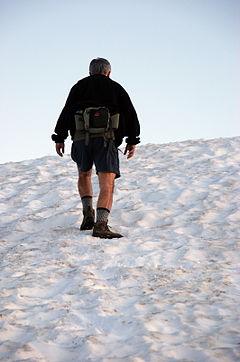 Sentinel Dome Hiker