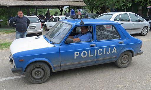 Serbia police car 11