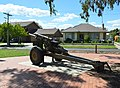 Seymour Vietnam Veterans Commemorative Walk 105 mm Gun 002.JPG