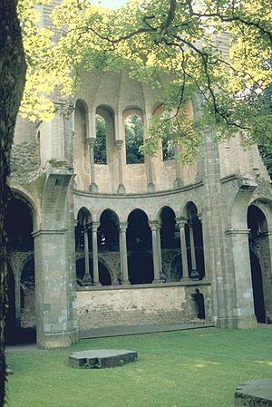 Heisterbach Abbey - Abbey ruins