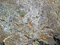 Shatterconed sandstone (Mississagi Formation, Paleoproterozoic, ~2.3-2.4 Ga; Ramsey Lake Road outcrop, Sudbury, Ontario, Canada) 108 (33891171958).jpg