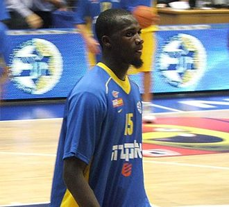 Shawn James - James with Maccabi Tel Aviv in October 2011.