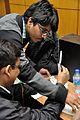 Shayantam Sengupta and Binoy Kumar Dubey - Art of Science - Workshop - Science City - Kolkata 2016-01-08 9075.JPG