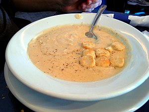 Michael's She-Crab Soup at Croakers, Inc. at V...
