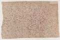 Sheet with an overall red speckle pattern Met DP886826.jpg