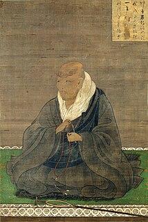 Japanese Buddhist monk