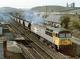 Shirebrook railway station in 1990.jpg