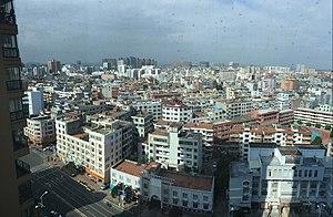 Shishi, Fujian - Image: Shishi cityview